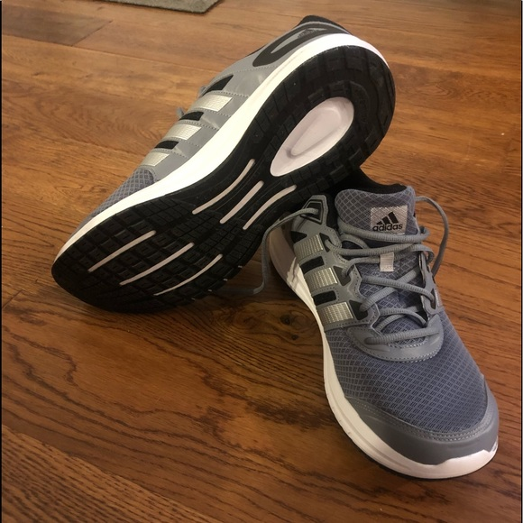 adidas Shoes   Mens Grey And Silver